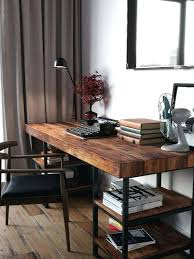wooden office table. Wood Office Desk Chairs Amazing Solid Stunning On Remodel Ideas With Impressive Best Industrial Style Inside Wooden Table