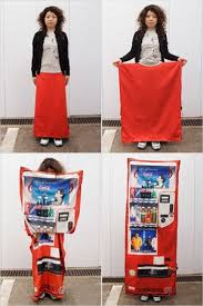 Japanese Vending Machine Dress Fascinating How To Hide And Outfox A Potential Attacker In Japan Inspired By