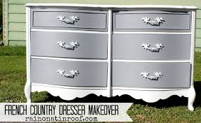 chalk paint furniture diyFrench Country Dresser Makeover DIY Chalk Paint