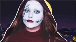 sally nightmare before makeup tutorial