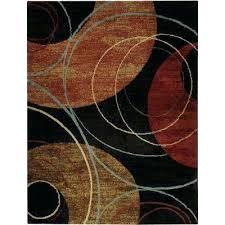 black and orange rug pasha collection black orange black area rug black grey orange rug