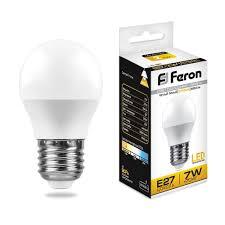 Lamp led <b>Feron lb</b>-<b>95</b> bulb E27 <b>7W</b> 2700K 25481