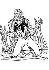 Family time thanksgiving with a turkey dinner coloring page. 30 Free Spider Man Coloring Pages Printable
