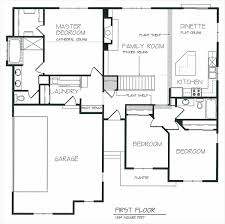 2Open Concept Floor Plans  THE MORRIS  Milwaukee Home Builder Open Floor Plans For One Story Homes