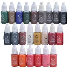 tattoo makeup permanent tattoo ink set 15ml one bottle biotouch pigment for eyebrow embroidery tattoo makeup pigment biotouch inc brow tattooing from