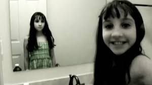 scary ghost girl in the mirror (best funny videos  scary)  youtube