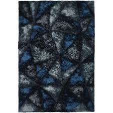 chandra flemish blue grey charcoal 5 ft x 8 ft indoor area
