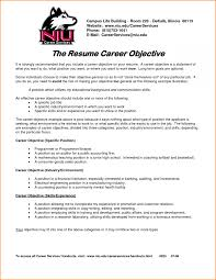Resume Objective Examples For All Jobs Free Sample Objectives Sales