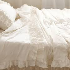 lace duvet cover set ivory