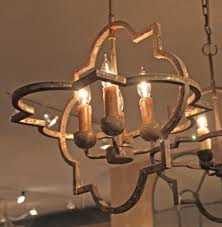atwood french country quatrefoil antique gold iron chandelier kathy kuo home