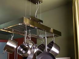 Hanging Bakers Rack Kitchen Small Kitchen Storage Ideas Pictures Tips From Hgtv Hgtv