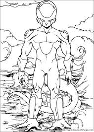 Colorare Dragon Ball Z Disegno Saga Di Freezer