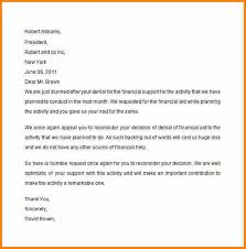 appeal letter example financial aid appeal letter sample
