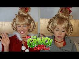 cindy lou who makeup transformation how the grinch stole christmas you