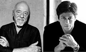 paulo coelho gifts shah rukh khan an autographed copy of the paulo coelho gifts shah rukh khan an autographed copy of the alchemist