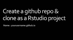Creating a Website with R Markdown and Github - YouTube