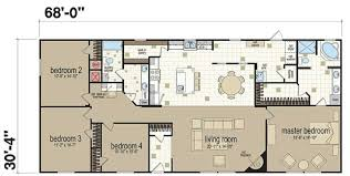 manufactured homes floor plans. Double Wide Manufactured Homes Floor Plans 15 Bold Design 4 Bedroom 2 Bath Single Mobile