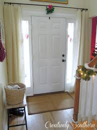 Front Door Decorating Curtain Ideas For Front Doors Modern Front Door Decorating For