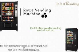 Rowe Vending Machine Enchanting Vending Machine Infographics Visually