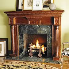 image of wooden fireplace mantels and surrounds