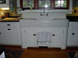 cast iron wall hung kitchen sink with drainboard sanford vintage