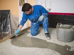 can cement board be installed over concrete flooring materials