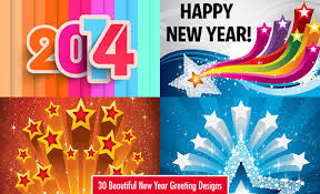 30 Beautiful New Year Greeting Card Designs For You On Behance