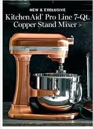 kitchenaid pro line stand mixer 7 qt reviews copper bowl for linear liner
