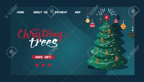 Free Christmas Website Templates Stock Illustration