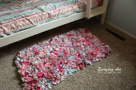 This DIY rag rug from Craftaholics Anonymous is perfect for little ones, as  it is super soft, affordable, and easy to create. It's also the perfect DIY  ...