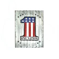 corrugated metal signs bar x we are one nation under corrugated metal farm sign signs whole