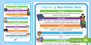 Glossary for children text feature Childrens Ks1 Features Of Nonfiction Text Display Poster Y2 Information Text Twinkl Ks1 Features Of Nonfiction Text Display Poster Y2 Information Text