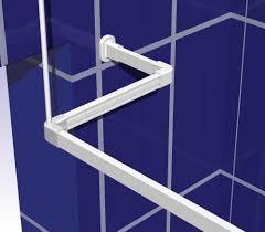 curtain rail support rod