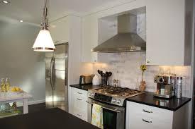 Cottage Modern Art In The Kitchen - One wall kitchen designs