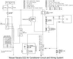 nissan navara d22 air conditioner circuit and wiring system diagram jpg nissan navara d22 air conditioner circuit and wiring system diagram