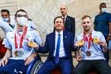 הנשיא הרצוג אירח את המשלחת הפראלימפית: גאה להיות חלק ממדינה שאלה הם ספורטאיה
