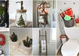 Stunning Christmas Bathroom Decor Ideas To Get In The Holiday Mood