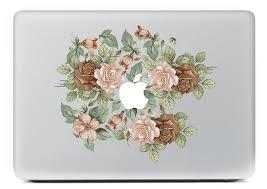 macbook air 13 skin rose