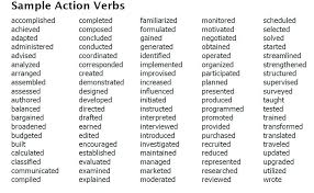 Action Verbs For Resumes Sufficient Photoshot Resume Best List Sales
