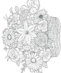Free Online Flower Coloring Pages Coloring Pages For Kids Online