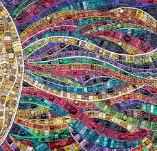 Mosaic Design Ideas Radiation By Julie Edmunds Mosaic Patterns Mosaic Tiles