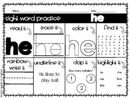Jump to oodles of free practice pdf worksheets below she taught several general rules like all letters sit on the base line. then she writes that you should teach the terms for the five strokes as you show how to connect the letters Kindergarten Sight Word Practice Worksheets Purple Words Tpt