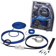 amplifier wiring kits stinger 8ga power wiring kit