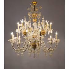 italians ca rezzonico chandelier in the seguso style circa 1950s