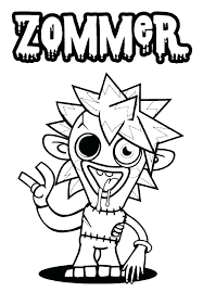 Coloring Pages Monsters Mistersofpuertoricoinfo