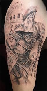 Tetování Gladiator Tetování Tattoo