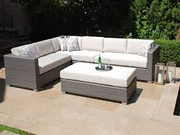 Small Outdoor Patio Sectional  GCcourt HouseOutdoor Patio Furniture Sectionals