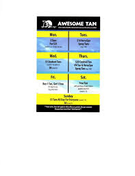 awesome tan spray tanning 1416 s erfield rd mundelein il phone number yelp