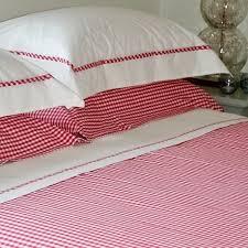 Red Gingham Bedding | Bed Linen & ... Raspberry Red Gingham Duvet Cover Adamdwight.com
