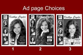 pageant ad page template pageant ad pages syracuse image photography